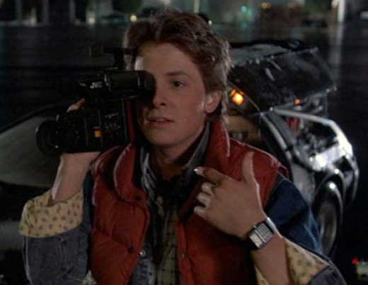 Back to The Future Marty Mcfly Watch Marty Mcfly's Watch is a Casio
