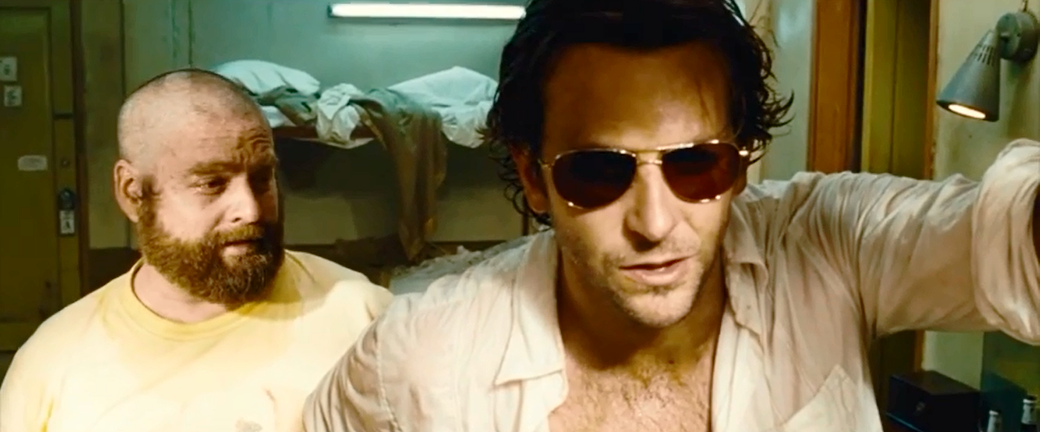 Bradley Cooper wearing sunlgasses in The Hangover Part 2