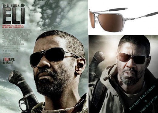oakley inmate polarized sunglasses chl5  The sunglasses from The Book of Eli well, the ones worn by Denzel  Washington, in any case are Oaklay Inmates Washington's frames were  polished chrome