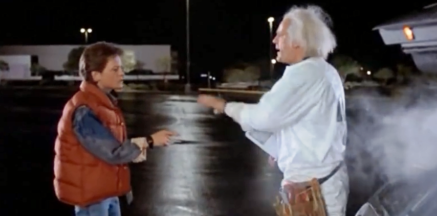 Buy A Marty Mcfly Watch From Back To The Future